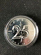 Canadian 5 Silver Maple Leaf 1 Troy Ounce .9999 Pure 2013 25th Anniversary Coin