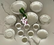 Sango Magesty Collection Royal Fine China 45 Pieces. Cannes 8078 Collectibles