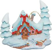 Wdcc Enchanted Places Grandpa's House Ornament - Peter And The Wolf 41222