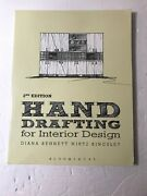 Hand Drafting For Interior Design By Diana Bennett Wirtz Kingsley 2014...