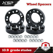 4 1.5 Hubcentric Wheel Spacers 5x5.5 Adapters 9/16 Studs For Dodge Ram 1500