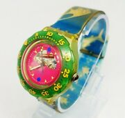 1990 Jelly Fish Scuba Swatch Watch | Mens And Womens Swiss Made Swatch Watch