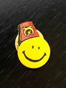 Vintage Collectible Shriner Fez Hat Happy Face Metal Pinback Lapel Pin Hat Pin