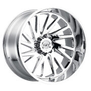 Fits Tuff At Jeep Wrangler Truck And Suv Qty 4 Rims T2a Chrome 20x12 5x5