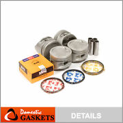 Pistons And Rings Fit 87-91 Toyota Camry Celica 2.0l Dohc 3sfe