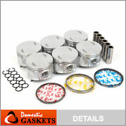 Pistons And Rings Fit 87-95 Nissan Pathfinder 200sx 300zx D21 3.0l Vg30e