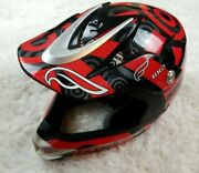 Fulmer Rx2 Sector Size Medium Red Black And Gray Dot Dirt Bike Motocross Used