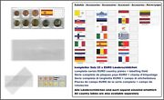 1000 Look 1-k7es-spa Coin Pockets Cases Euro-course-coins-sets + Spain Flags