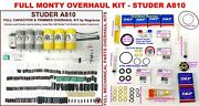 Studer A810 Comprehensive Electronic And Mechanical And039full Montyand039 Overhaul Kit