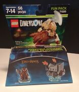 Lego Dimensions Lord Of The Rings Gimli And Axe Chariot 71220 New Sealed