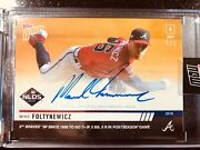 On-card Auto To 1 - Mike Foltynewicz - Mlb Topps Now Card 953d