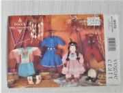 Vtg. Vogue Craft Pattern 9372 By Linda Carr 18 Ethnic Doll Clothes-ff / Uncut