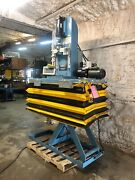 Apex Customized Press 2700 Lb Ton Capacity With Scale H A Frame On Scissor Lift