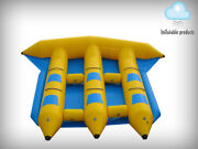 Inflatable Fly Fish Boat For 6 Persons Slide Sled Banana Boat Water Game Flyfish