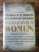 Dangerous Women Autographed Copy Signed By George R. R. Martin And Diana Gabaldon