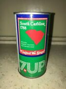7 Up Uncle Sam Can 1976 South Carolina - Complete Your Collection