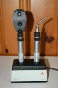 Heine Kappa 100 Ophthalmoscope And Transilluminator With Slim Handles And Nt200