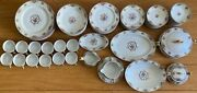 Haviland Limoges Commodore France Dinner Service Set For 12 - 94 Pieces