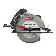Porter-cable 15 Amp 7-1/4 Steel Shoe Circular Saw Pce300 New