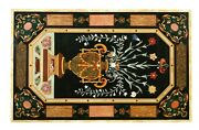 24x48 Marble Dining Table Top Stone Inlay Art Fine Living Room Decor