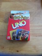 Harry Potter Uno Card Game 2003 Mattel 42797 New Sealed