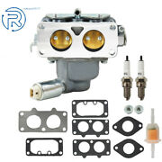 Carburetor Set For Briggs And Stratton V-twin 20hp 21hp 22hp 23hp 24hp 25hp 699709