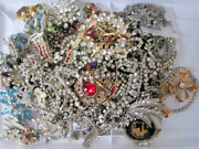 Junk Drawer Jewelry For Repair Or Jewelry Making Lot 67