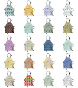 Ambesonne Apron Bib Adjustable Neck For Gardening And Cooking Clear Image