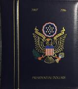 Deluxe Presidential Dollars P And D 2007-2016 Lighthouse Album And Case - New