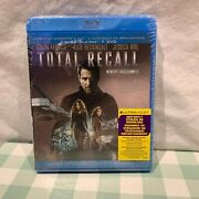 Total Recall Blu-ray/dvd, 2012, 3-disc Set, Includes Digital Copy New Sealed