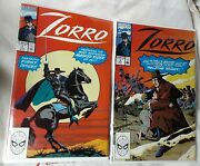 Marvel Comics Vintage Zorro Comic Books Volume 1 Issues 1 - 12 And Doll Lot