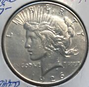 1926-s Vam Spiked Eagle Peace Dollar L@@k At Pictures 1841