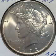 1922 Vam 2-2 Peace Dollar L@@k At Pictures 1650