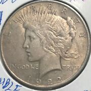 1922 Vam Double Eagle Peace Dollar L@@k At Pictures 1660