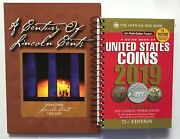 A Century 1909-2009 Of Lincoln Cents Coin Folder 108 Holes And 2020 Redbook