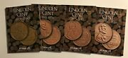 1909 - 2017 And Beyond 4 Folder Set Lincoln Cent Coin Folders H. E. Harris