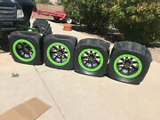 Brand New 4 Competition Blaster Sand Tires And Hiper Wheels Never Mounted