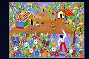 Carlos Galindo Naive Museum Gallery Collectors Itm Home Decor Office Gift Wall