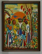 Carlos Rivero Naive Museum Gallery Collectors Itm Home Decor Office Gift Wall