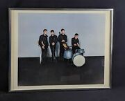 Rare Limited Edition Beatles Original Drummer Pete Best Signed Lithograph