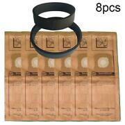 8pcs/set Dust Bags + Belt Vacuum Cleaner Spare Parts For Kirby G3 G4 G5 G6 G7