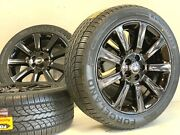20 Black Range Rover Rims Wheels Tire Hse Super Charged Factory Oem 72197 5x120