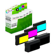5pk Tct 952xl 952 Xl Combo For Hp Officejet Pro 7740 8210 8216 8720 Compatible