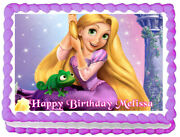Tangled Party Edible Cake Topper Image Decoration