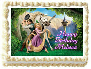 Tangled Edible Cake Topper Image Party Decoration