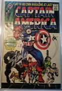 Marvel Captain America 100 1960s 1st Print Comic Book Signed Stan Lee Fan Expo