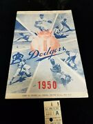 Mickey Mantle First Game Rookie Ny Yankees Program And Ticket April 15 1951 6