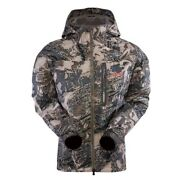 Sitka Open Country Coldfront Hunting Camo Jacket And Bib Pants Set-m