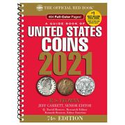 2021 Redbook - Guide Book Of United States Coins - Spiral Bound