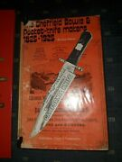 The Sheffield Bowie And Pocket-knife Makers 1825-1925 Book Rare